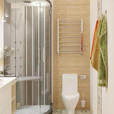 Свежие тенденции дизайна ванных комнат 2017 года.