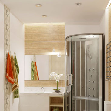 Новые дизайн-проекты ванных комнат 2017 года.