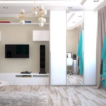Новые дизайны интерьеров гостиных комнат в квартирах, с фото.