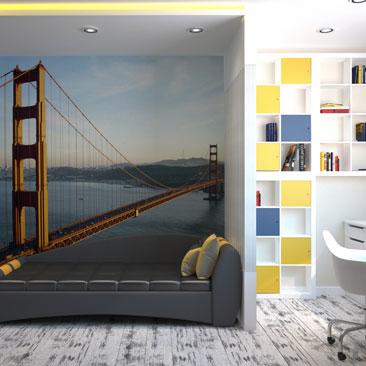 Дизайн комнаты для мальчика подростка - фото 2017 года.