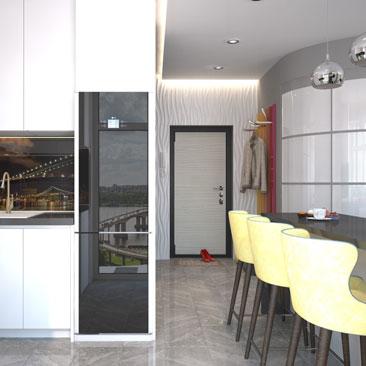 Дизайн-проекты кухонь - фото 2017 года.