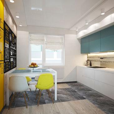 Дизайн кухонь - фото и идеи 2017 года.