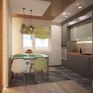 Кухня 2017 – дизайн интерьеров, новые идеи.