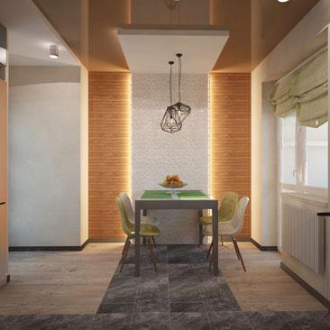 Кухни Лофт - дизайн 2017.