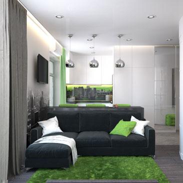 Дизайн-проект квартиры – фото.