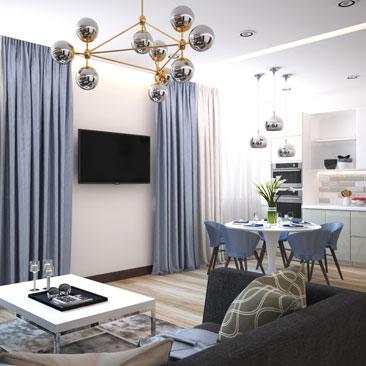 Дизайн квартиры – проект интерьера.