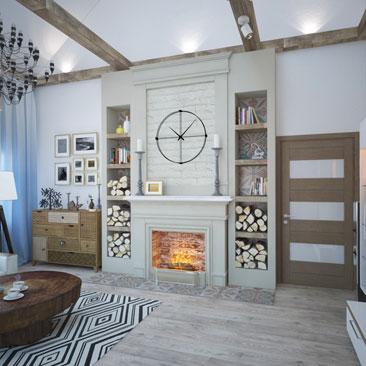 Дизайн интерьера квартир и коттеджей - свежие идеи 2017.