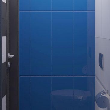 Дизайн туалета маленького размера - фото.