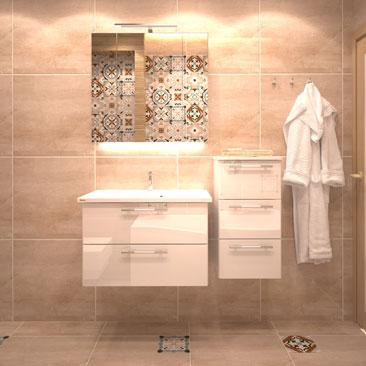 Ванная комната в скандинавском стиле: дизайн-проект.