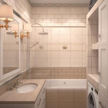 Дизайн ванных комнат в Москве, Воронеже.