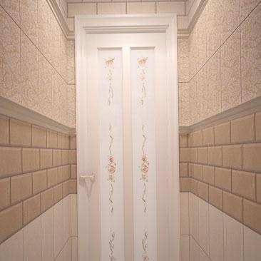 Дизайн туалета в Воронеже, в Москве.