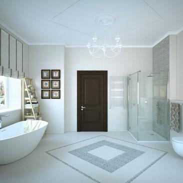 Дизайн интерьеров ванных - Москва, Воронеж.