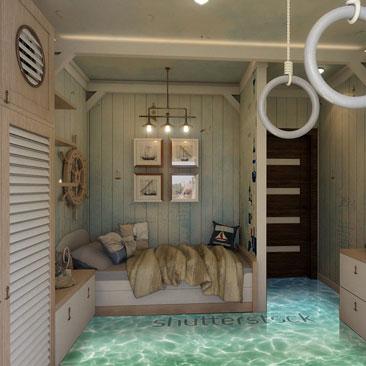 Заказать дизайн детской комнаты в Москве, Воронеже.