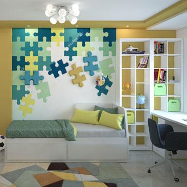 Комната мальчика 3-11 лет - Дизайн интерьера детских комнат фото