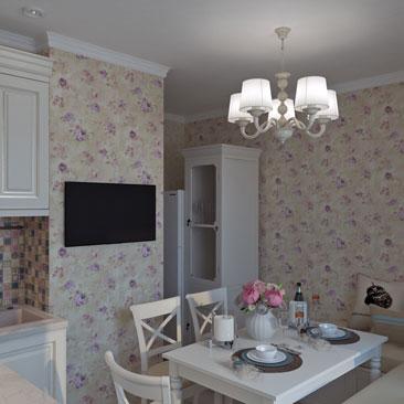 Дизайн-проект интерьера кухни заказать в Москве или Воронеже.