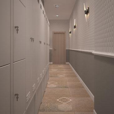 Дизайн интерьеров коридоров в офисах.