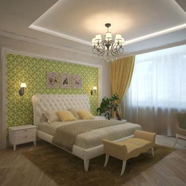 Дизайн спальни - интересные проекты.
