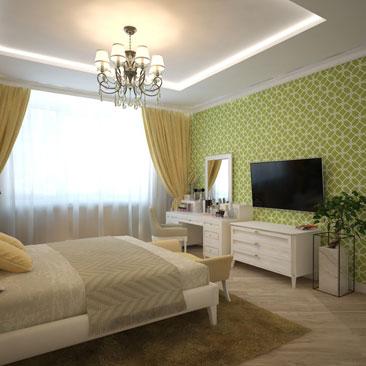 Оригинальные спальни - дизайн-проекты.