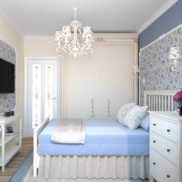Дизайн спальни - красивые проекты.