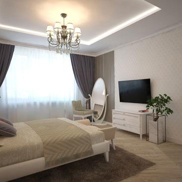 Дизайн спальни - оригинальные идеи.