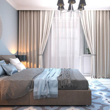 Проекты спальных комнат - услуги дизайнеров.