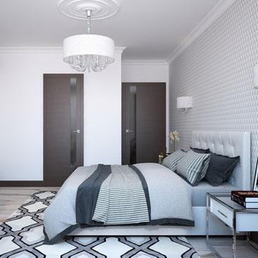 Дизайн спальни - интересные фото.