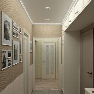 Дизайн холла в квартире.