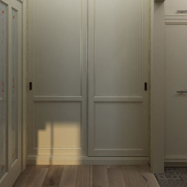 Холл квартиры - дизайн, интерьер, проект.