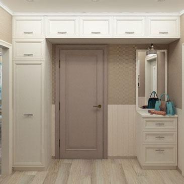 Холл квартиры - услуги дизайнера.