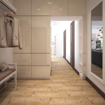 Холл в квартире - дизайн, интерьер.