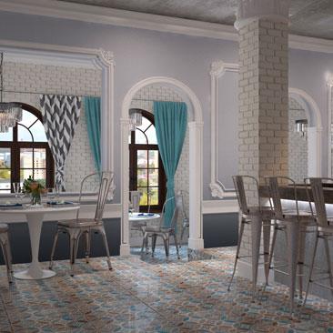 Проект кафе в самых популярных и востребованных стилях - портфолио.