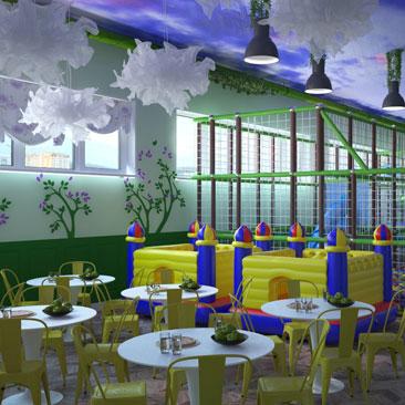 Детские развлекательные центры - Москва, дизайн, проекты, интерьеры.