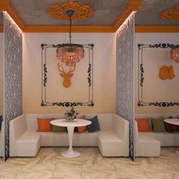Дизайн интерьера кафе, ресторанов в Москве и Подмосковье.