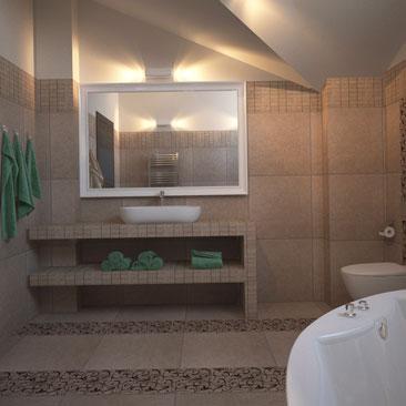 Дизайн ванной комнаты, фото интерьеров.