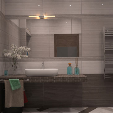 Дизайн интерьера ванных комнат - галерея проектов.