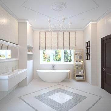 Дизайн ванной комнаты в Москве - фото.