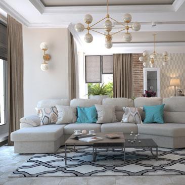 Дизайн, проект, интерьер гостиной.
