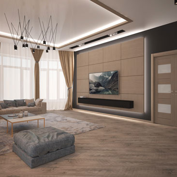 Галерея проектов: дизайн гостиной фото.