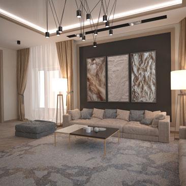 Каталог проектов: интерьер гостиной фото.