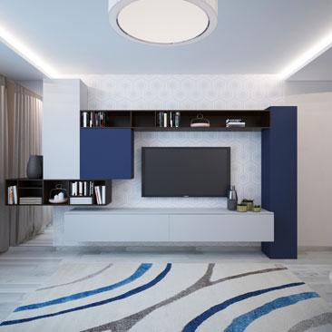 Гостиная. Квартира дизайн.
