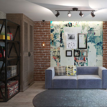 Подростковая комната дизайн.