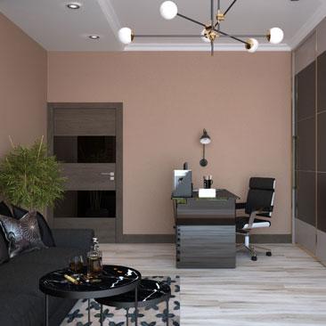 Дизайн кабинета руководителя мужчины фото, проект.