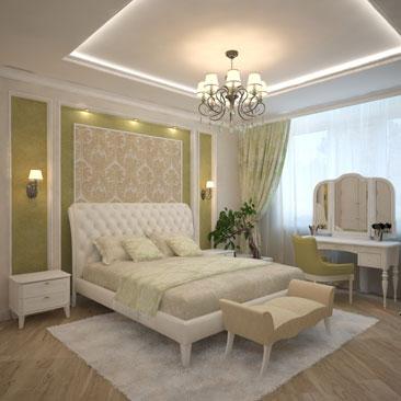 Дизайн спальни в квартире (фото)