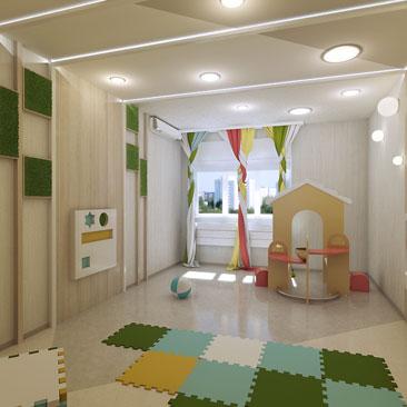 Новые проекты интерьеров детских коммерческих центров