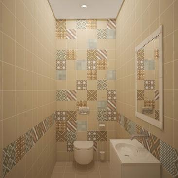 Портфолио за июль 2017: дизайн туалета фото.