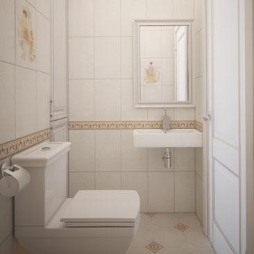 Туалет, дизайн, интерьер, портфолио.