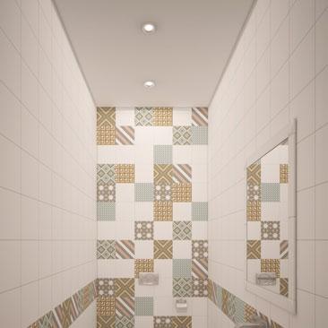 Дизайн туалета - модные проекты 2017.