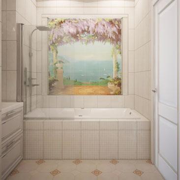 Современный дизайн ванной в 2017 году.