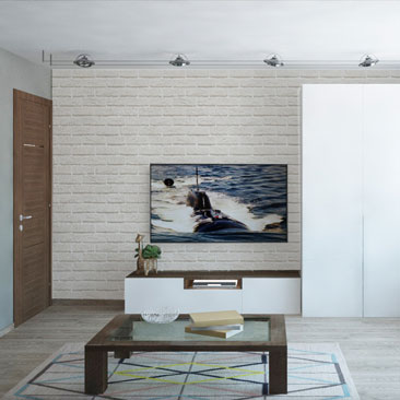 Дизайн интерьера гостиной - новые работы.