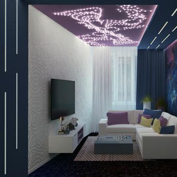 Дизайн гостиной (июль 2017)